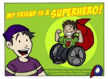"""""""My Friend is a Superhero"""" cover"""