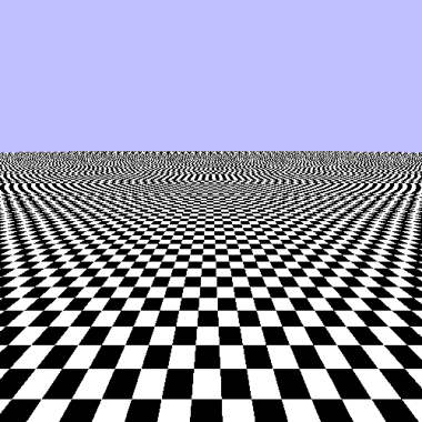 infinite checker board