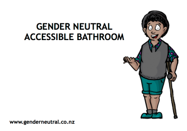 GENDER NEUTRAL ACCESSIBLE BATHROOM